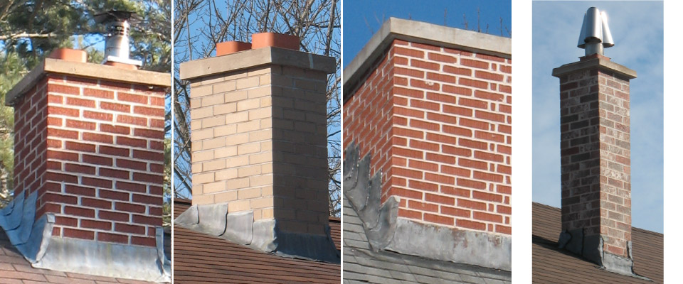 Roof Top Chimney Repair and Replacement